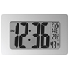 Marathon Atomic Panoramic Digital Clock (CL030041WG) - White