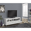 "Monarch TV Stand for TVs Up To 60"" - White"