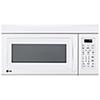 Four à micro-ondes à hotte intégrée de LG - 1,8 pi3 - Blanc