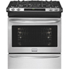 """Frigidaire Gallery 30"""" 4.2 Cu. Ft. Slide-In Self Clean Gas Convection Range - Stainless Steel"""