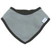 Bumkins Baby Waterproof Bandana Bib - 0 to 9 Months - Grey