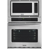 """Frigidaire Gallery 30"""" Combo 4.6 Cu. Ft. Wall Oven/2 Cu. Ft. Microwave (FGMC3065PF)-Stainless Steel"""