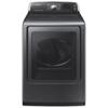 Samsung 7.4 Cu. Ft. Electric Steam Dryer (DV52J8700EP/AC) - Platinum