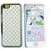 Étui rigide ajusté Crystal d'Exian pour iPhone 5c - Blanc