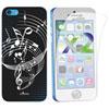 Étui souple Music d'Exian pour iPhone 5c - Noir