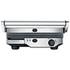 Breville Quick Clean Grill - Silver Metallic