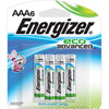 Energizer EcoAdvanced AAA Battery (XR92BP6) - 6 Pack