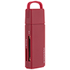 Insignia USB 3.0 2-in-1 Memory Card Reader (NS-DCR30S2B-C) - Red