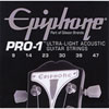 Epiphone Pro-1 Ultra-Light Acoustic Guitar Strings