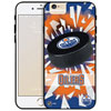 NHL Detroit Edmonton Oilers iPhone 6 Plus Fitted Hard Shell Case - Puck Shatter