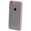 Étui souple ajusté Iinvisa de GelGrip pour iPhone 6/6s - Rose