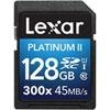 Carte SDHC/SDXC Platinum II classe 10 de 128 Go de Lexar