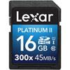 Carte SDHC/SDXC Platinum II classe 10 de 16 Go de Lexar
