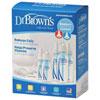 Ensemble de biberons standard Natural Flow de Dr. Brown's - Paquet de 5 - Transparent
