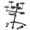 Roland V-Drums Electronic Drum Kit (TD-1KV) - Black/White