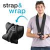 miggo Strap & Wrap Neoprene/Lycra 2-in-1 Mirrorless Camera Strap/Case (MM20025) - Black