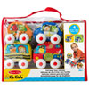 Melissa & Doug Pull-Back Vehicles Baby and Toddler Toy Set
