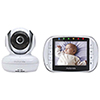 "Motorola 3.5"" Video Baby Monitor with Zoom/Pan/Tilt & Two-way Communication (MBP36S)"