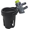 Brica Drink Pod Stroller Travel Drink Holder - Black