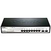 Commutateur Web intelligent Gigabit à 10 ports de D-Link (DGS-1210-10)
