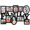 Kiera Grace Family Collage Photo Frame (PH00011-8FF) - Black