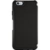 Étui rigide en cuir Strada d'OtterBox pour iPhone 6/6s - Noir - Gris foncé