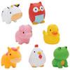 Munchkin Squirtin' Barnyard Buddies Bath Toy - 8 Pack - Multi-colour