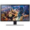 Moniteur de jeu DEL TN UHD 4K FreeSync 1 ms (gris à gris) 60 Hz 28 po de Samsung (U28E590D) - Noir - Titane