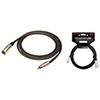 Câble de 0,92 m (3 pi) série P de Kirlin pour microphone (MP485PR3) - Noir