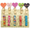 Fujifilm Instax Pretty Pegs Magnetic Pegs - 10 Pack - Assorted Colours