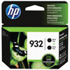 HP 932 Black Ink 2-Pack (L0S27AN#140)