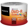 Sony 16X 4.7GB DVD-R Printable Discs - 50 Pack