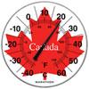 "Marathon Housewares 12"" Jumbo Indoor/Outdoor Thermometer - Canada Maple Leaf"