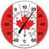 "Marathon Housewares 12"" Jumbo Indoor/Outdoor Thermometer - Canada Flag"