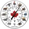 "Marathon Housewares 12"" Jumbo Indoor/Outdoor Thermometer - Canada Animals"