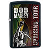 Zippo Bob Marley Uprising Tour Windproof Lighter - Black