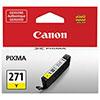 Cartouche d'encre jaune CLI-271 de Canon