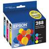 Paquet de 3 cartouches d'encre CMJ 288 d'Epson(T288520-S)