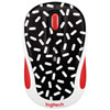 Logitech Party M325 Wireless Optical Mouse - Memphis Black