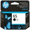 Cartouche d'encre noire HP 65 (N9K02AN#140)