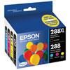 Epson CMYK Ink (T288XL-BCS) - 4 Pack