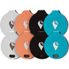 TrackR bravo Bluetooth GPS Tracker - 8 Pack - Multi-Colour