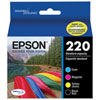 EPSON DURABrite Ultra T220 Colour Ink 4 Pack (T220120-BCS)