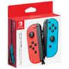 Manettes gauche et droite Joy-Con pour Nintendo Switch - Rouge/bleu néon
