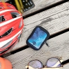 Pouch for Bike GPS kwmobile Case Compatible with Garmin Edge 530//830 Cosmic Nature Blue//Grey//Black