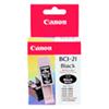 Cartouche d'encre noire de Canon (BCI-21)
