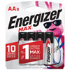 "Energizer ""AA"" 1.5V 8-Pack Batteries"