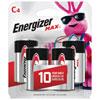 Paquet de 4 piles «C» 1,5 V d'Energizer