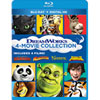 Dreamworks 4-Movie Collection (Blu-ray)