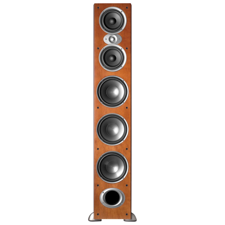 jbl tower speakers. polk rtia9 500-watt tower speaker - cherry single jbl speakers